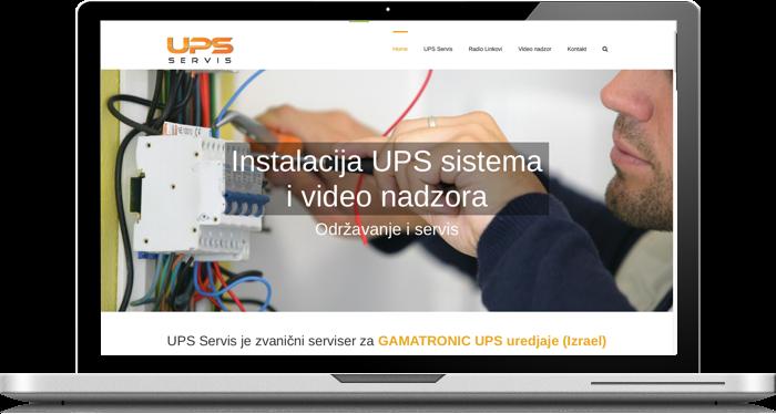 Servis UPS sistema